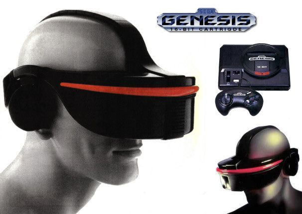 SEGA VR headset Games Who Cares about VR