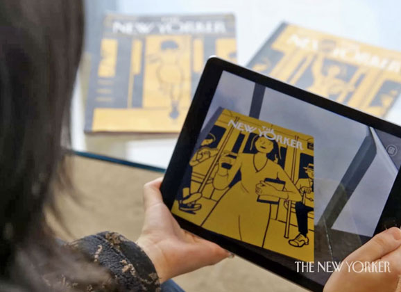 The New Yorker's latest issue comes alive with AR